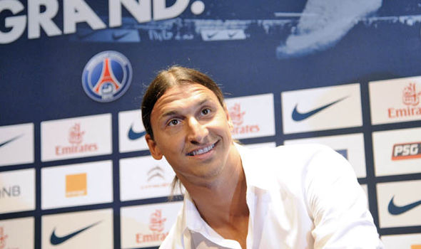 Zlatan Ibrahimovic at PSG