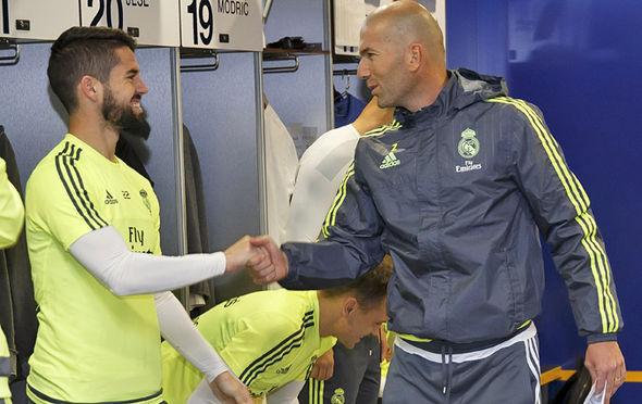 Isco Zinedine Zidane