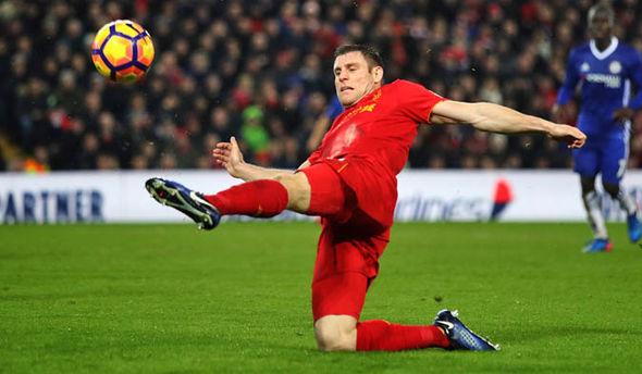 James Milner at Liverpool
