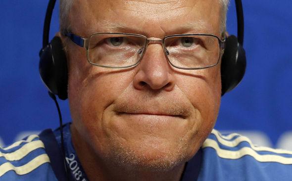 Sweden boss Janne Andersson