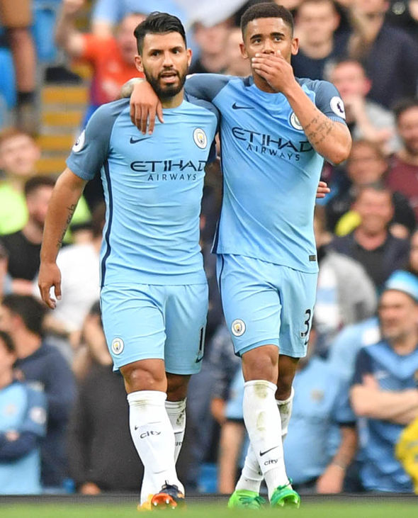 Aguero and Jesus