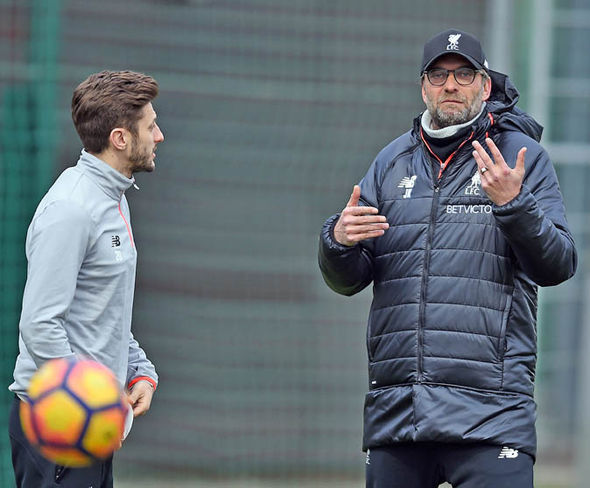 Jurgen Klopp will be desperate to get Lallana back into his first-team