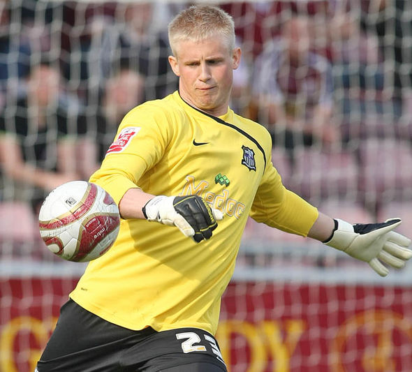 Kasper Schmeichel played for Notts County after leaving Manchester City