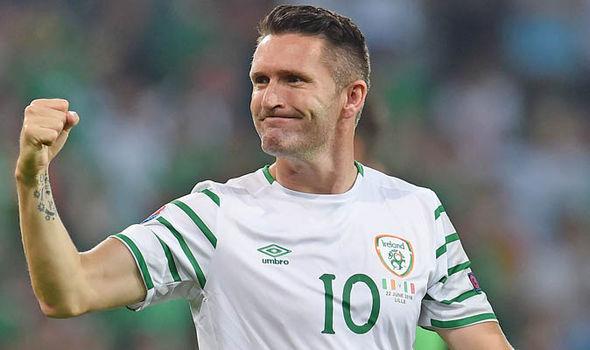 Robbie Keane Leeds United