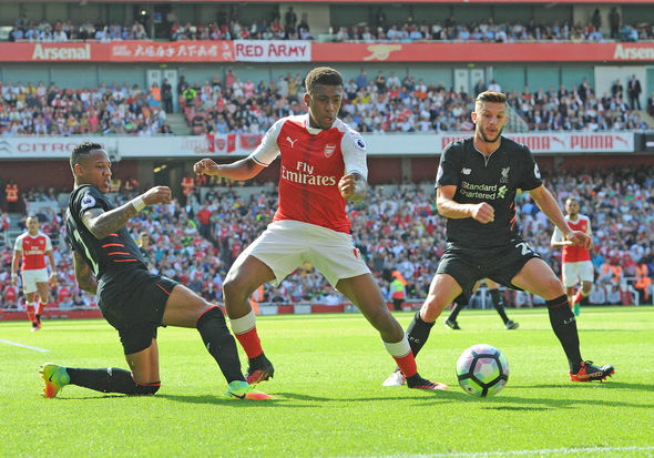 Thibaut Courtois Arsenal Liverpool