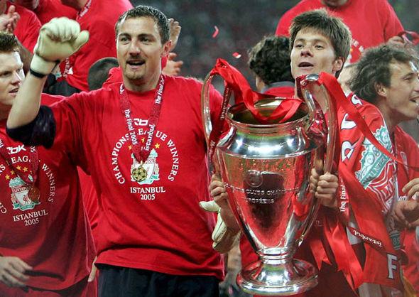 Xabi Alonso Liverpool