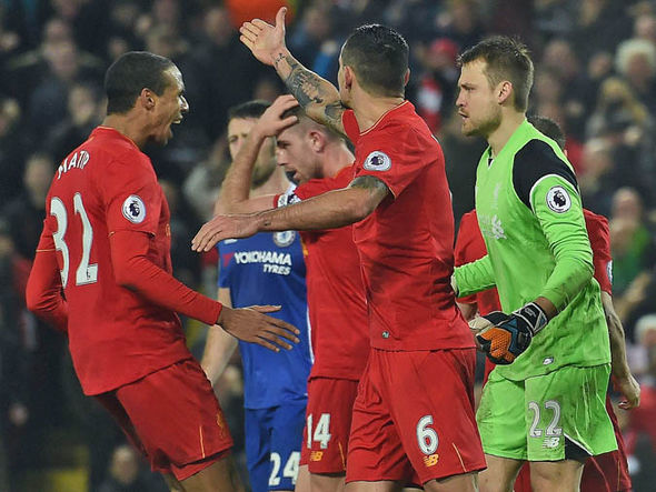 Liverpool fought back from 1-0 down to draw 1-1 with Chelsea
