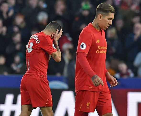 Liverpool have not won in five Premier League games