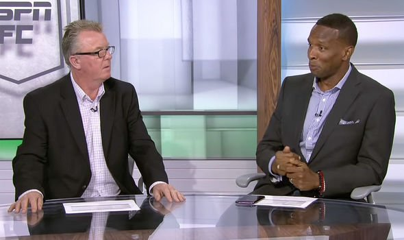 Steve Nicol and Shaka Hislop discussing Liverpool