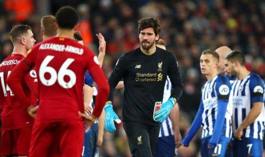 Liverpool 2-1 Brighton: Virgil van Dijk double gives ...