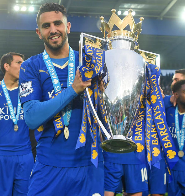 Mahrez rose to prominence last season as Leicester went on to win the Premier League