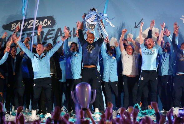 Man City retained their Premier League title