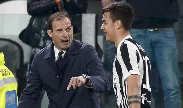 Man Utd Juventus Paulo Dybala Liverpool Man City