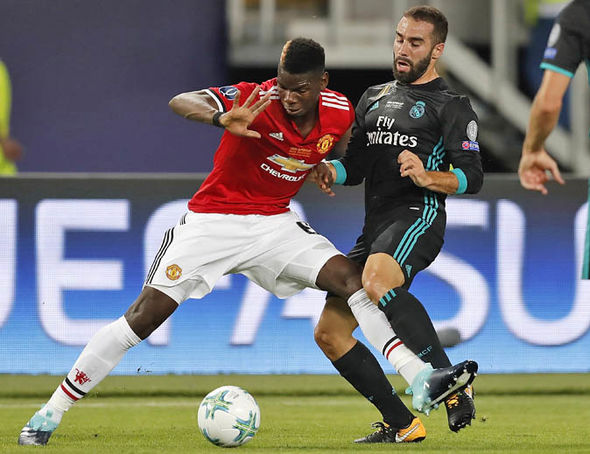 Man Utd transfer news Real Madrid Paul Pogba