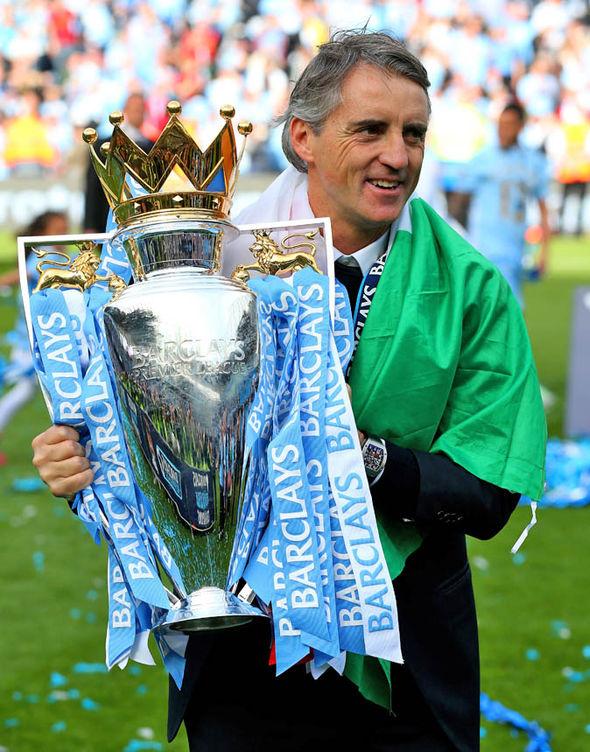 Mancini at Manchester City