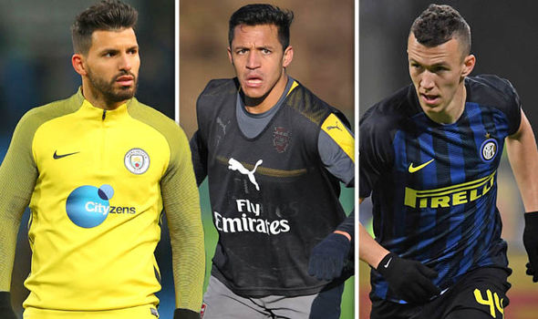 Transfer news on Arsenal and Man City