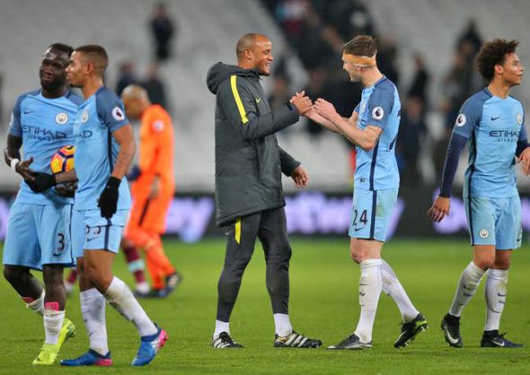 Manchester City beat West Ham 4-0 last night