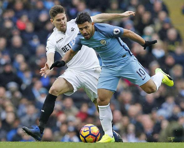 Sergio Aguero at Manchester City