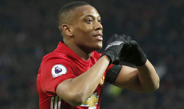 Anthony Martial Manchester Unitwd