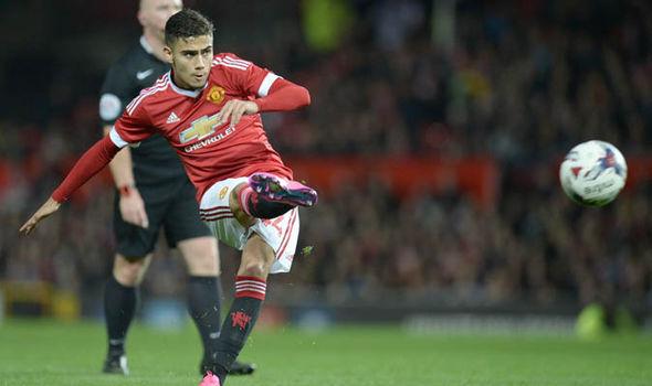 Manchester United Jose Mourinho Andreas Pereira News