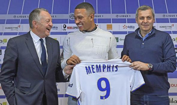 Manchester United Memphis Depay
