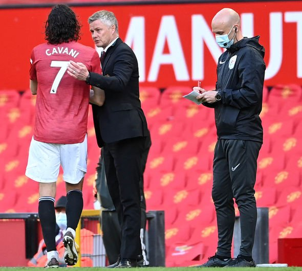 Manchester United news Edinson Cavani