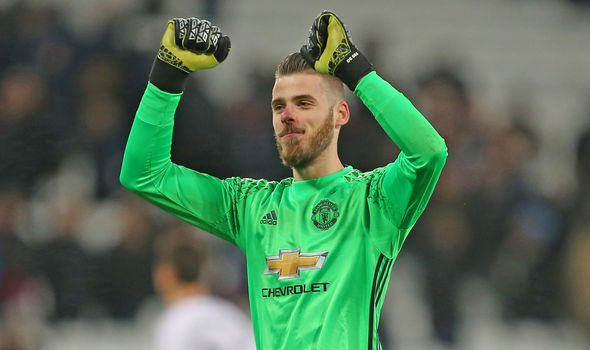 Manchester United star David De Gea