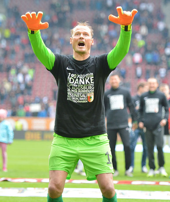 Alex Manninger during his Augsburg days