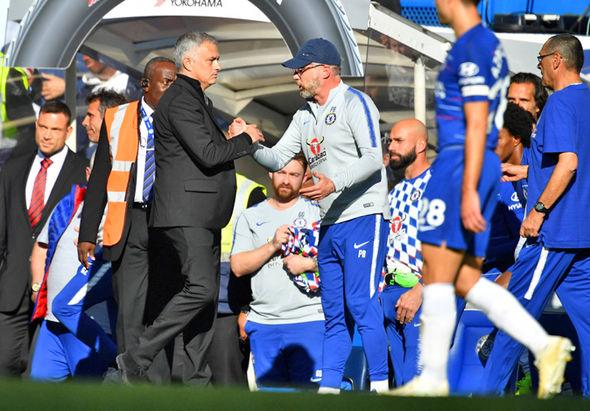 Marco Ianni Chelsea coach Man Utd Jose Mourinho