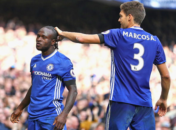 Marcos Alonso Victor Moses