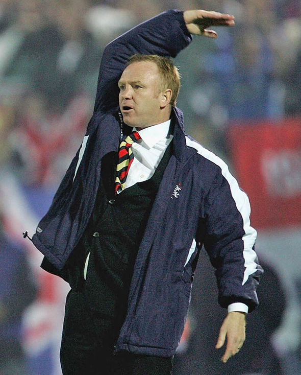 McLeish previously managed Rangers from 2001 to 2006