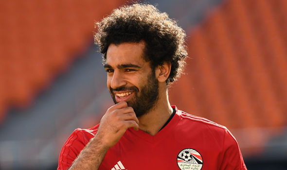 Mohamed Salah: The Liverpool star was a doubt for Egypt's World Cup opener