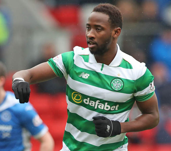 Moussa Dembele scored his 27th goal of the season from the spot