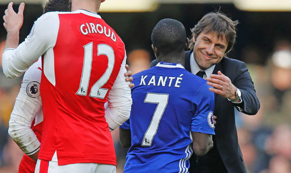N'Golo Kante Manchester United