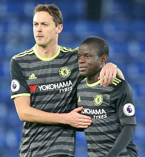 Nemanja Matic and N'Golo Kante