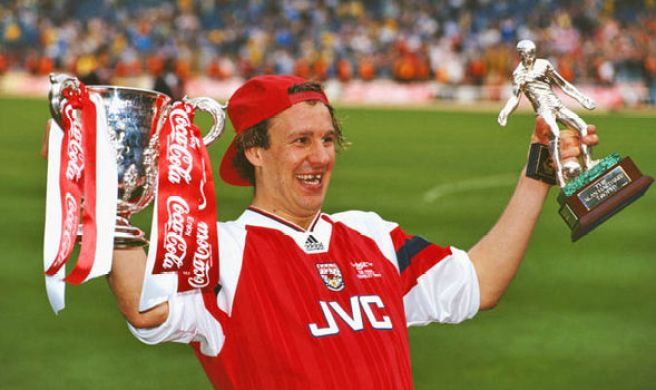 Image result for paul merson arsenal