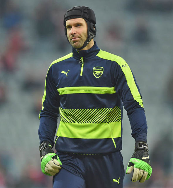 Petr Cech at Arsenal