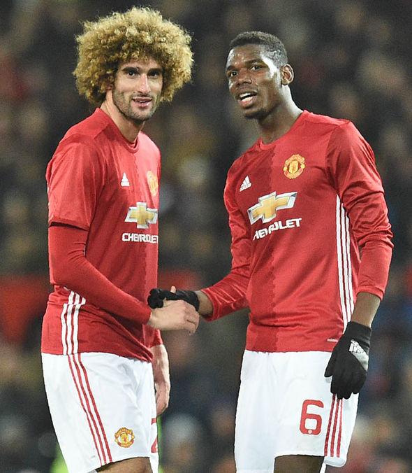Pogba said Fellaini is like a big brother to him
