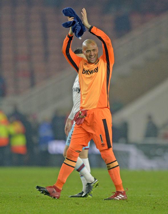 Darren Randolph West Ham