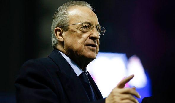 Real Madrid President Florentino Pérez spoke about the plans