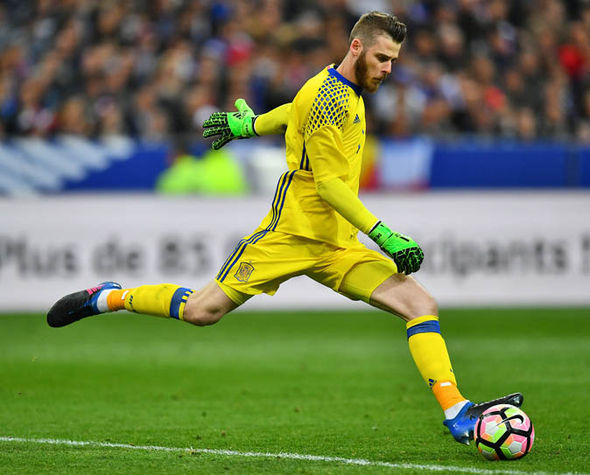Real Madrid transfer target David de Gea