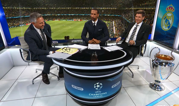 Rio Ferdinand Steven Gerrard
