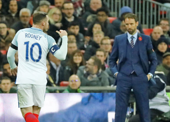 Rooney was dropped from the England squad by Gareth Southgate
