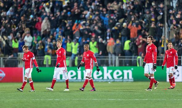 Rostov Bayern Munich