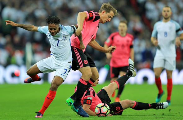 Scotland were beaten 3-0 by England in the reverse fixture