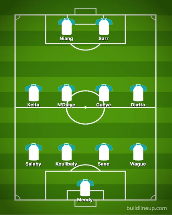Senegal team news predicted line up Tanzania