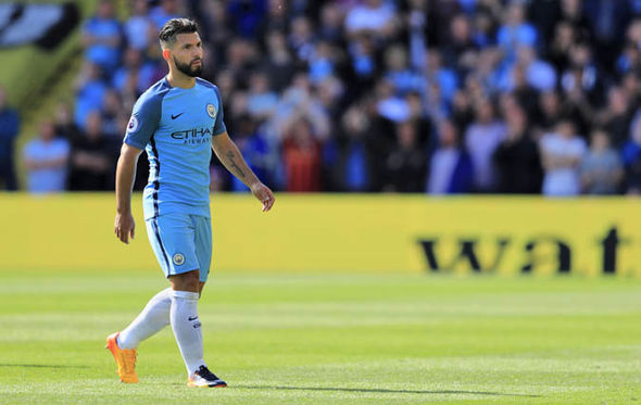 Sergio Aguero at Manchester City
