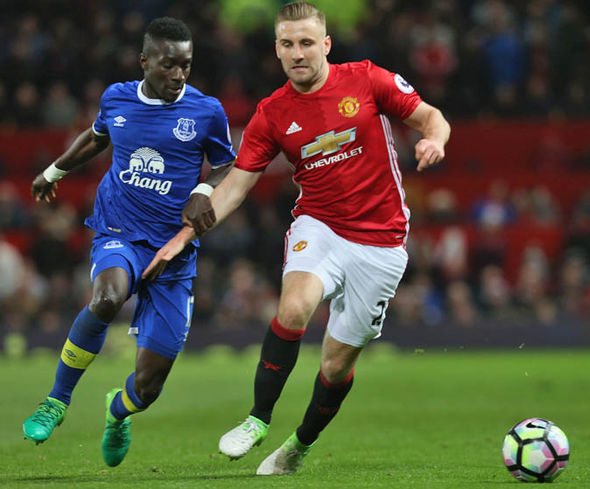 Shaw played just his second Premier League game of 2017 on Tuesday