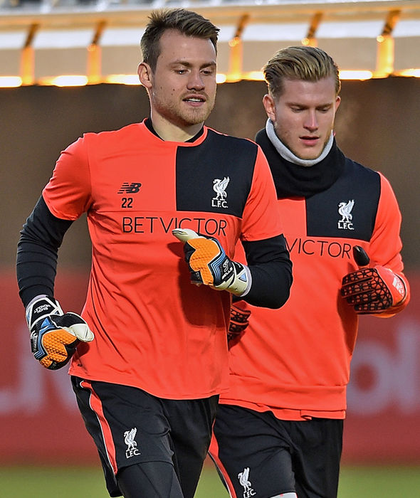 Simon Mignolet and Loris Karius