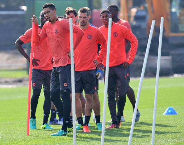 Manchester United training pics